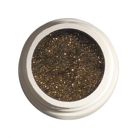 Glitzergel 44 Diamant brown