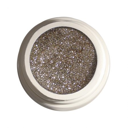 Glitzergel 45 Diamant light brown