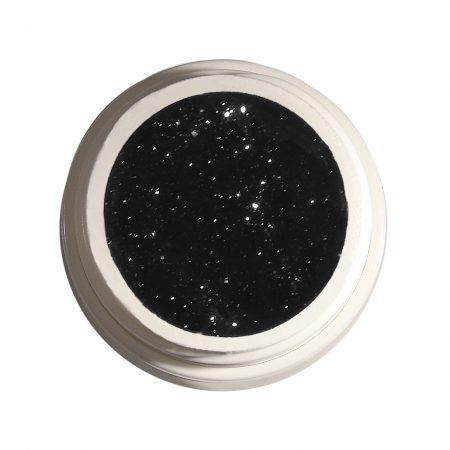 Glitzergel Night Sky 38 silber